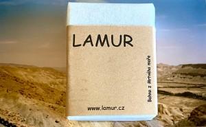 Lamur minerální mýdlo z bahna z Mrtvého moře 100g