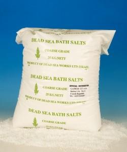 Minerální sůl z Mrtvého moře 25 kg