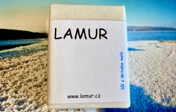 Lamur minerální mýdlo se solí z Mrtvého moře 100g